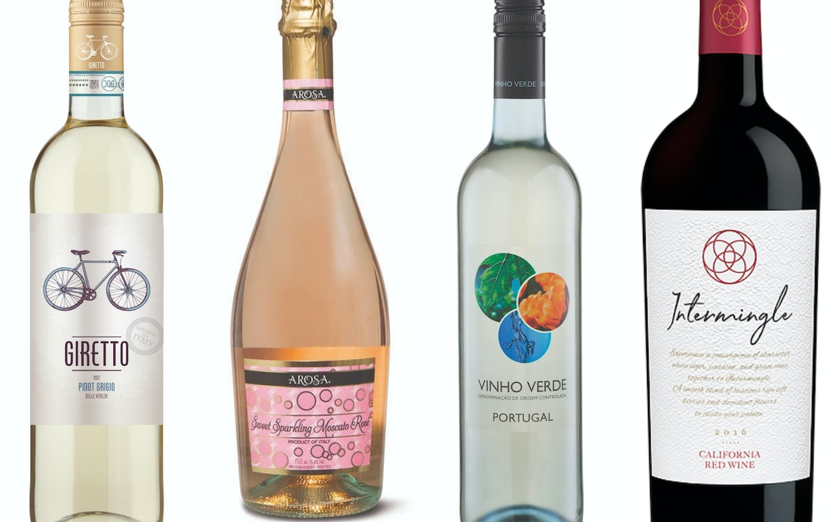 9 Bottles Of Aldi Wine You Can Get For Under $8