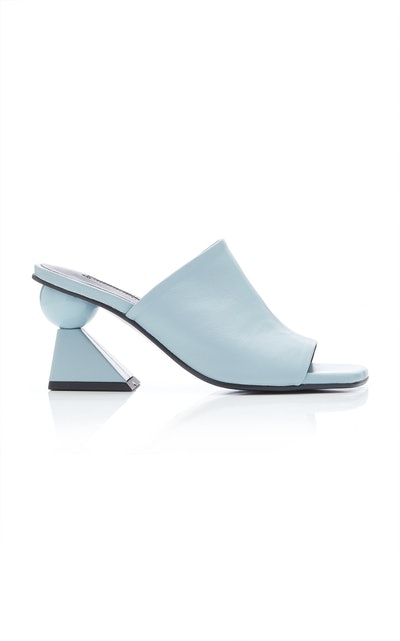 Lowell Leather Mules