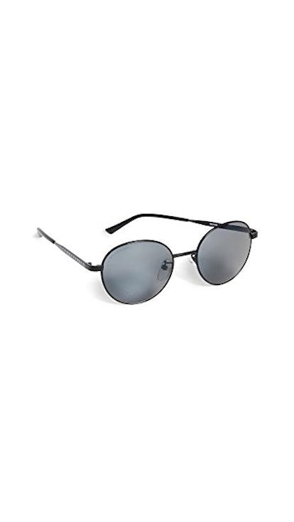 Verso Metal Round Sunglasses