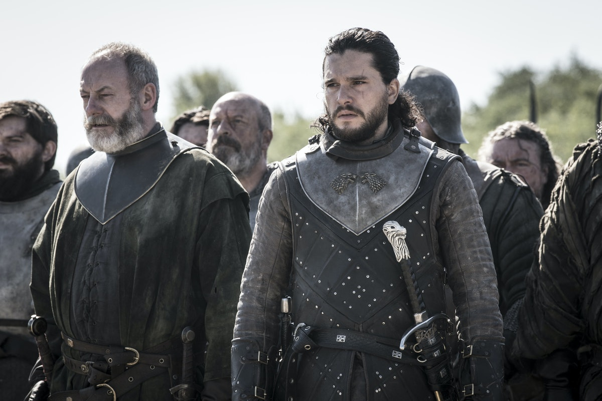 Where Is Jon Going In The 'Game Of Thrones' Series Finale? He Left Castle Black With The Wildlings