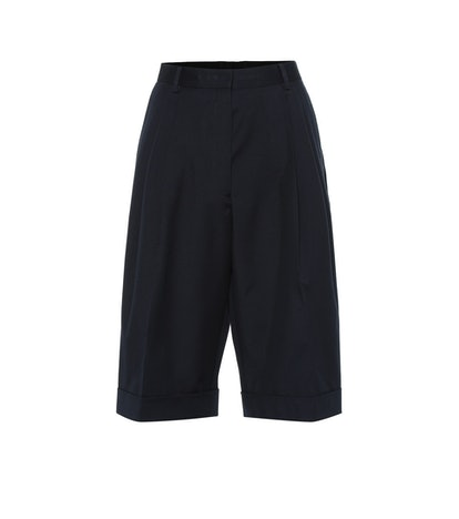 Cotton-Wool Blend Shorts