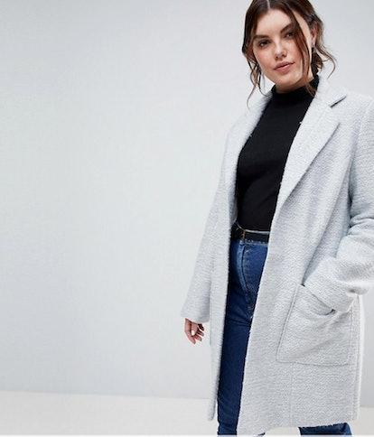 Plus Size Wool Coat