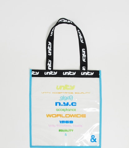 Clear Tote Bag with Unity Tour Print