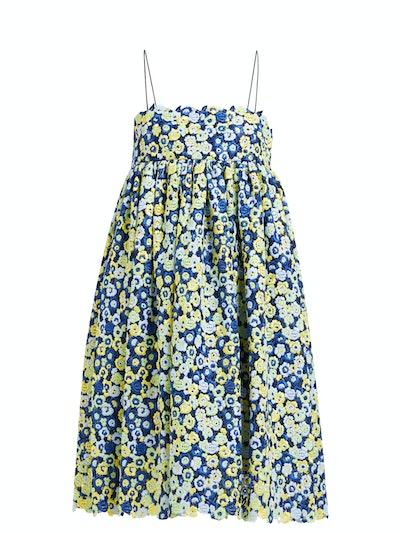 Matilda Floral Guipure-Lace Dress