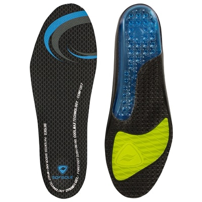 Sof Sole Gel Insoles (Sizes 7-14)