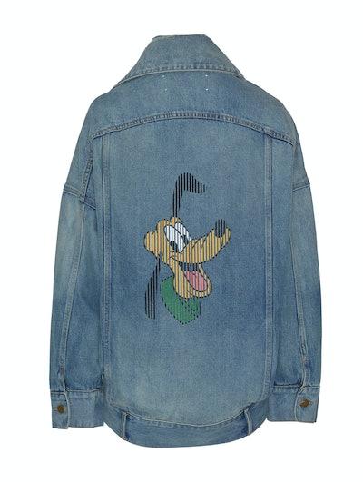 Disney Denim Jacket With Denim Pluto