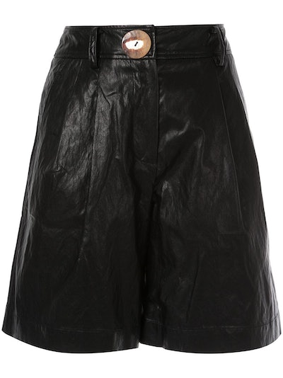 Renee Faux Leather Shorts