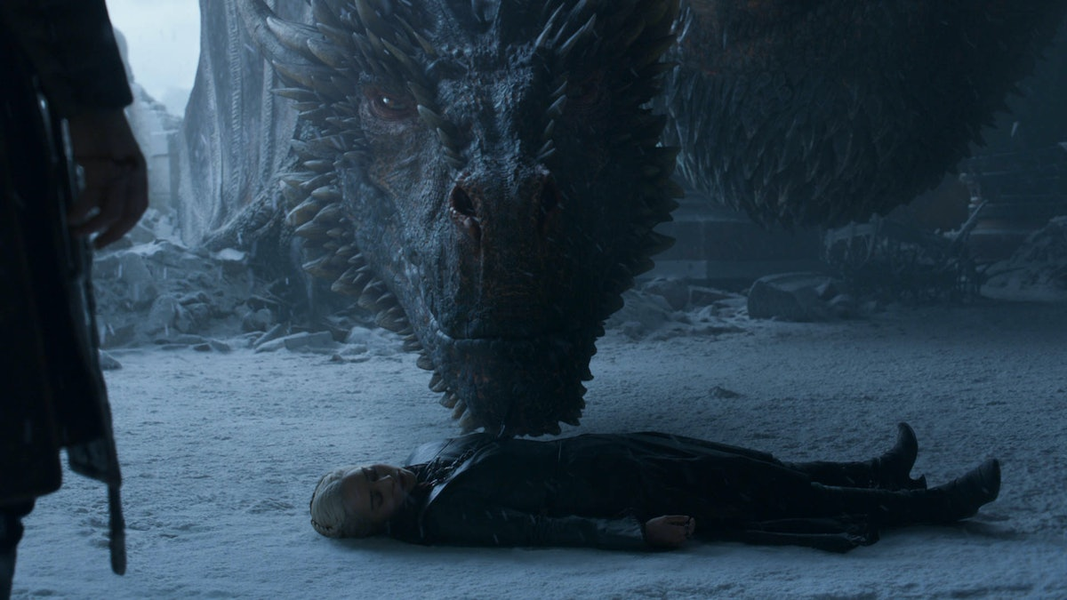 Why Didn't Drogon Kill Jon In The 'Game Of Thrones' Finale? Dany's Dragon Had More Important Things To Do