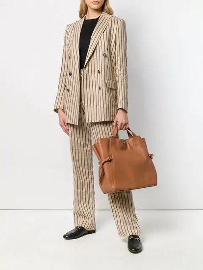 Striped Two-Piece Formal Suit
