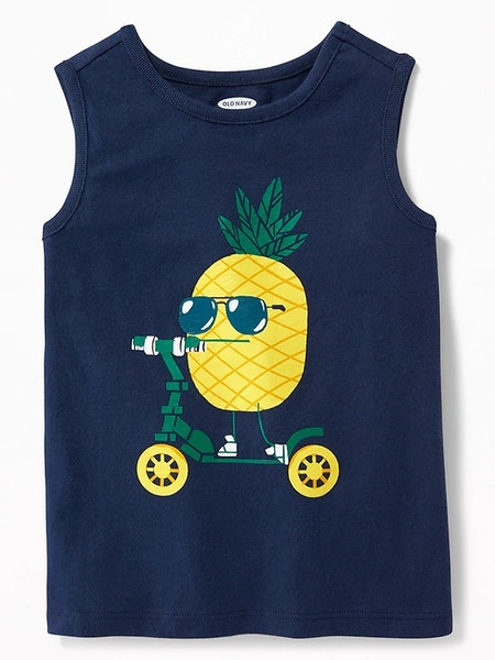 Graphic Muscle Tank for Toddler & Baby