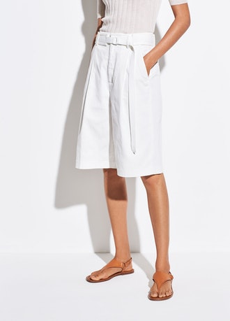 Long Belted Shorts