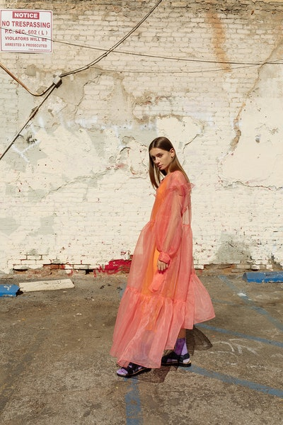 Nine Twenty-Seven Dress in Apricot