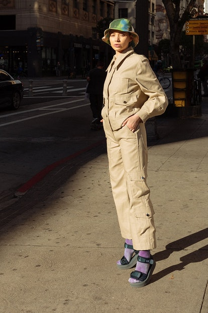 Utility Pant in Sand