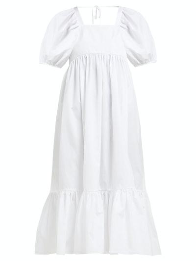 Mary Lou Cotton-Poplin Dress