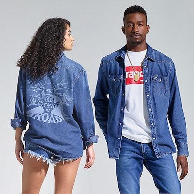 Wrangler Lil Nas X Denim Shirt