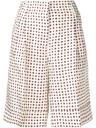 Knee-Length Cuffed Shorts