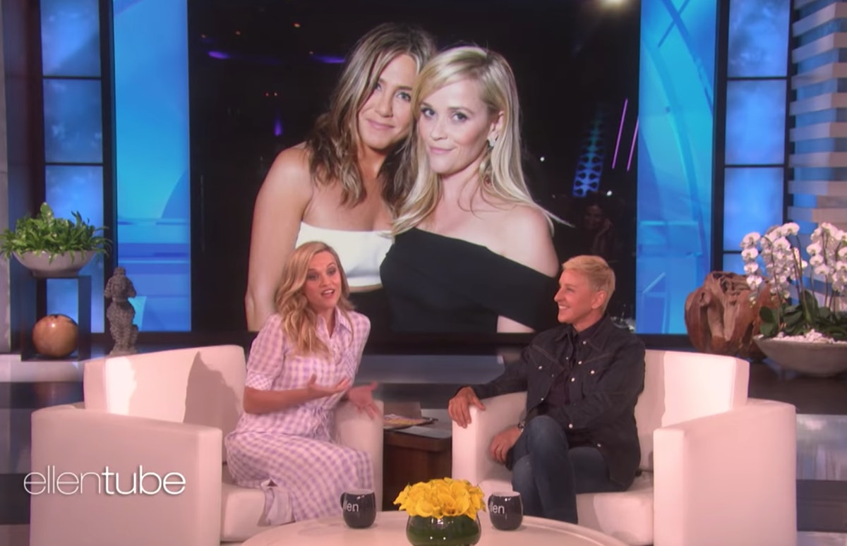Reese Witherspoon & Ellen DeGeneres Debated Who's Better Friends With Jennifer Aniston — VIDEO