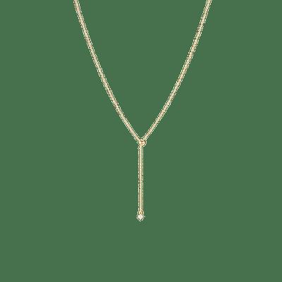 Lariat Slide Necklace