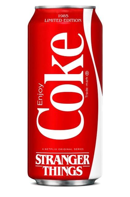 new coke in stranger things