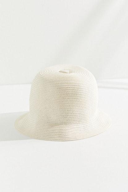 Brixton Essex Straw Bucket Hat