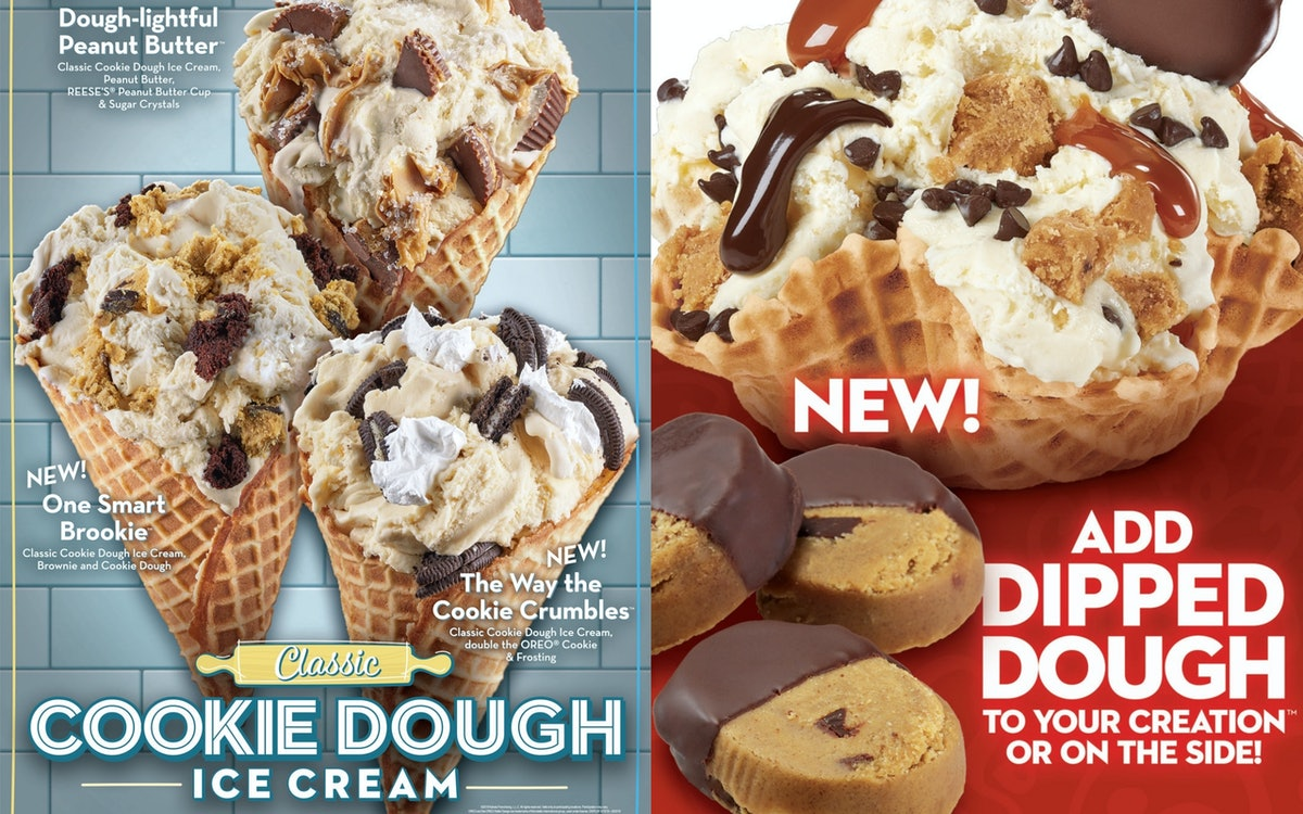 Cold Stone Creamery's 3 Cookie Dough Ice Cream Creations Launched Just In Time For Summer
