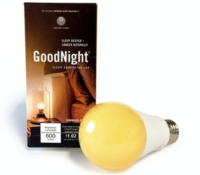 Lighting Science GoodNight Sleep Bulb