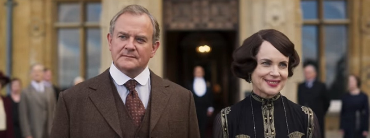 The 'Downton Abbey' Movie Trailer Teases An Exciting Royal Visit