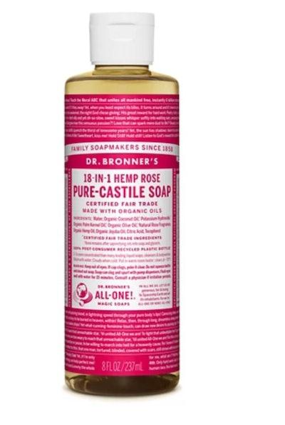 Rose Pure Castile Liquid Soap