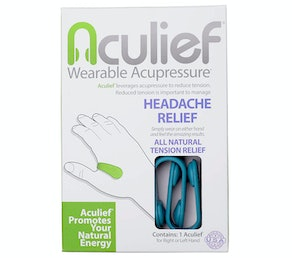 Aculief Wearable Acupressure Natural Headache and Tension Relief