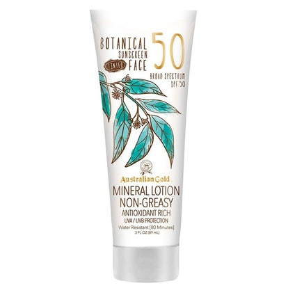 Australian Gold Botanical Sunscreen And Tinted Mineral Face Lotion