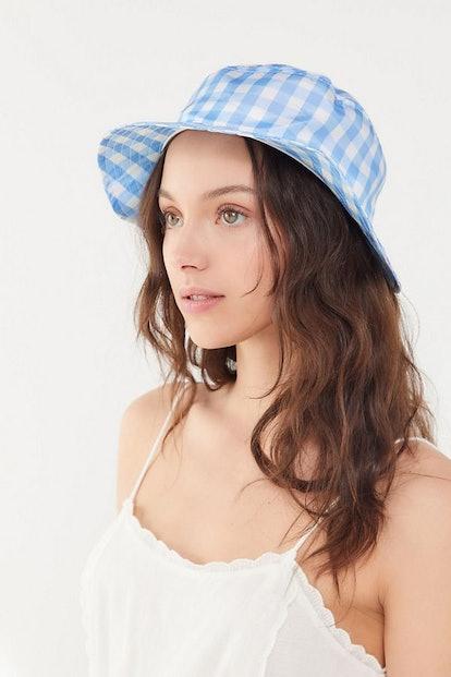UO Gingham Bucket Hat