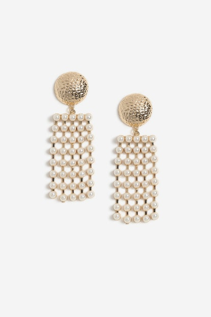 Pearl Mobile Drop Earrings