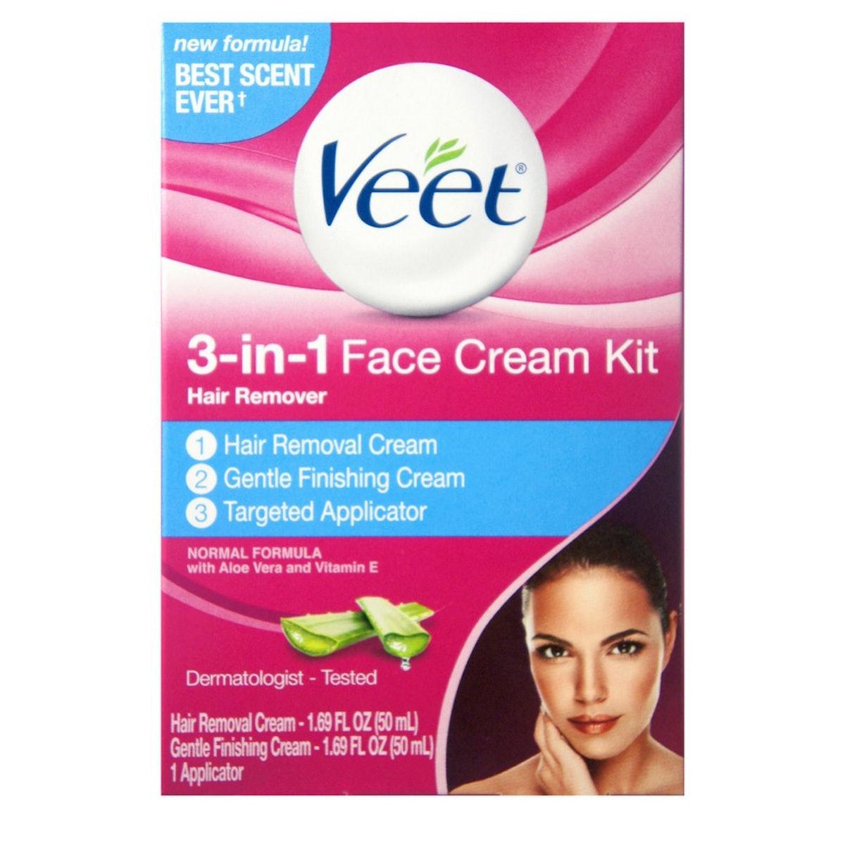 Veet 3-in-1 Face Cream Kit (3 Pack)