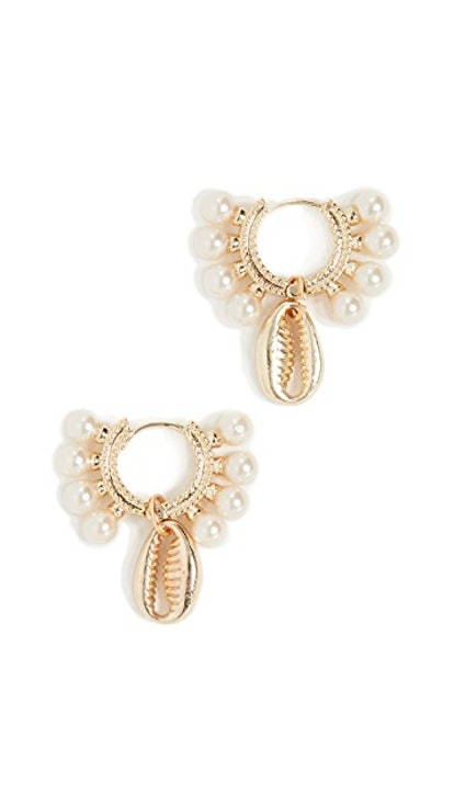 Shashi Lola Baltic Huggie Earrings
