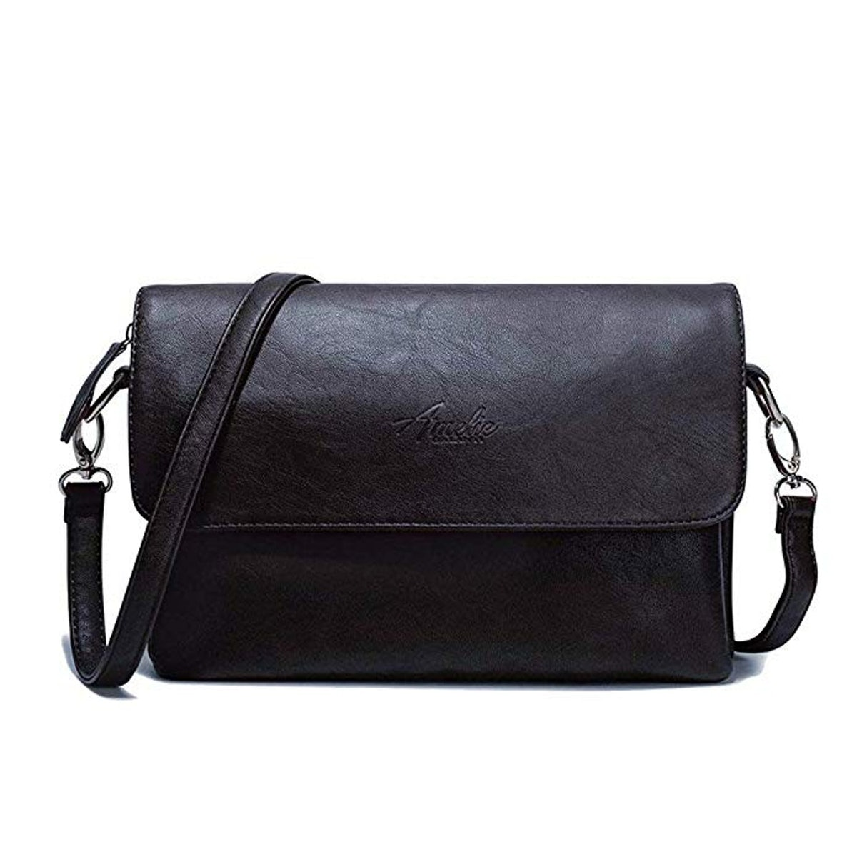 Amelie Galanti PU Leather Crossbody Bag