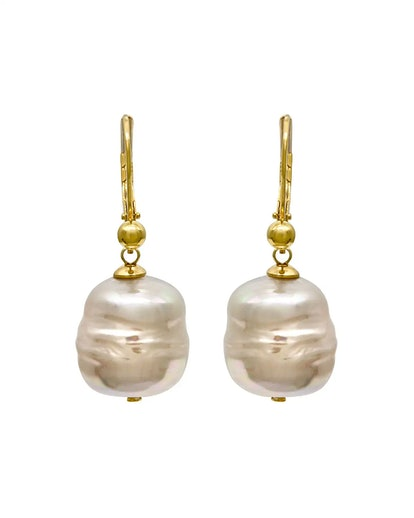 Majorica 12mm Baroque Pearl Drop Earrings