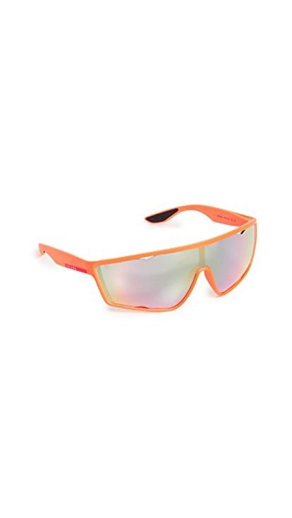 Sporty Shield Sunglasses