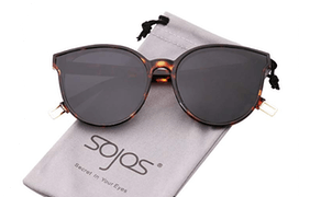 Sojos Round Sunglasses For Women And Men