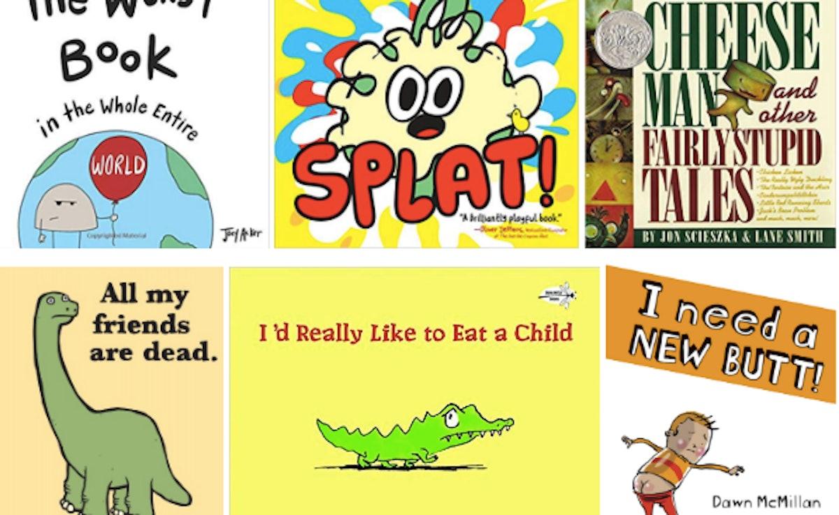 16 Weird Children's Books That Hilarious, Creepy, & Just... Bizarre