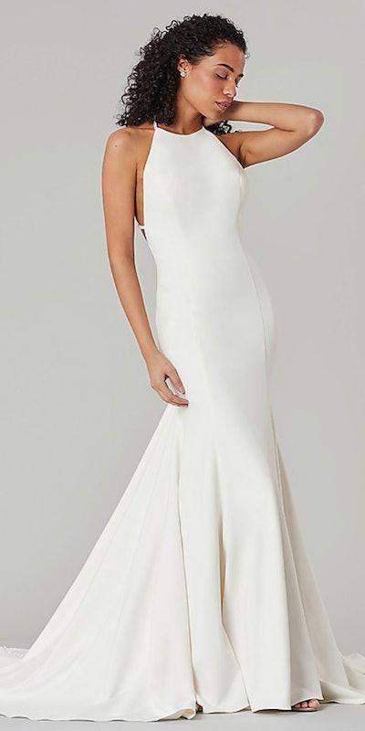 Sarah: Long Mermaid Wedding Dress