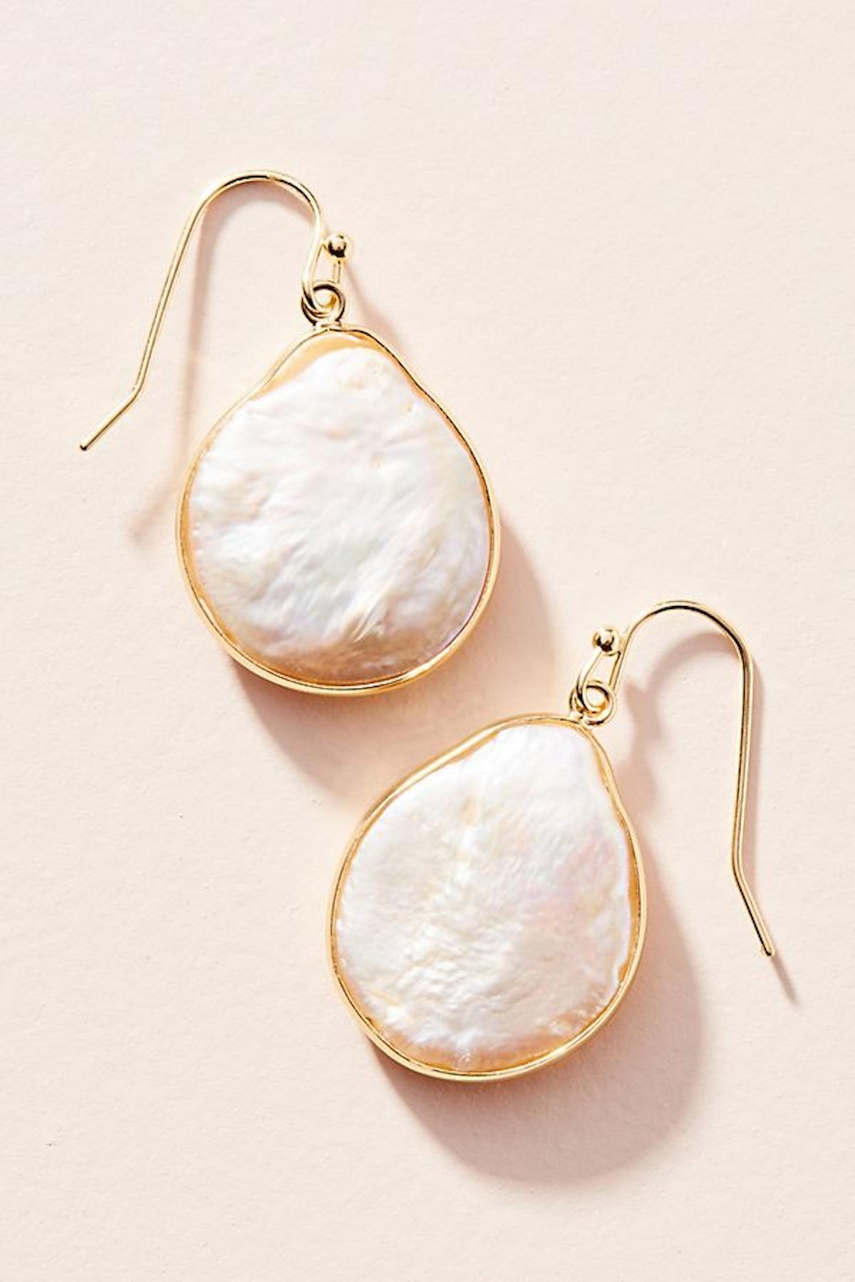Elke Coin Drop Earrings