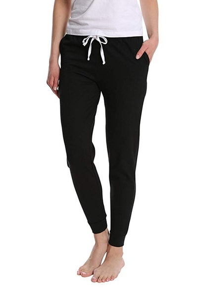 Blis Women's Cotton Jogger Pajama Pants