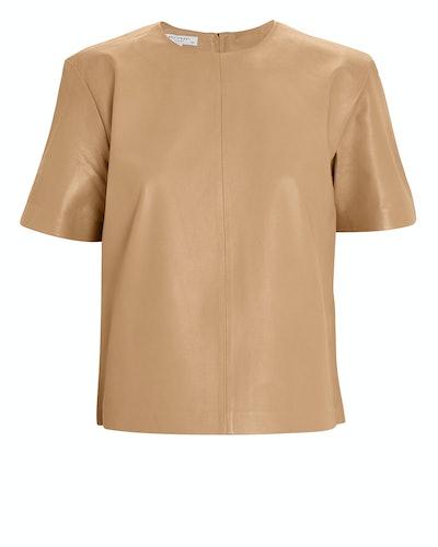 Saxonne Leather T-Shirt
