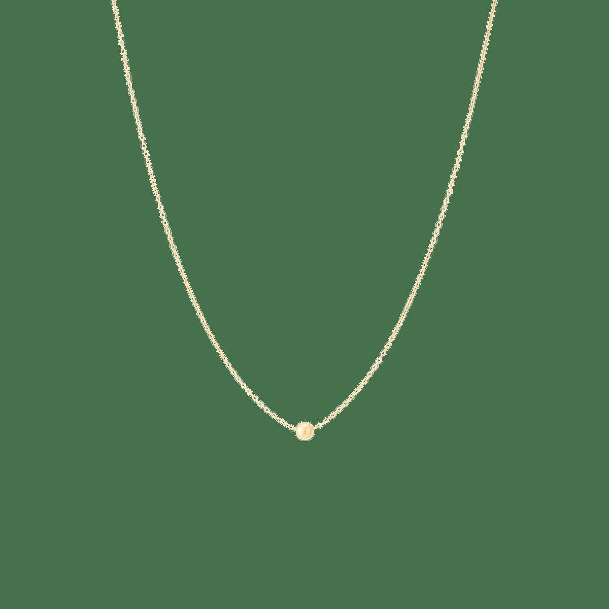 Single Sphere Necklace