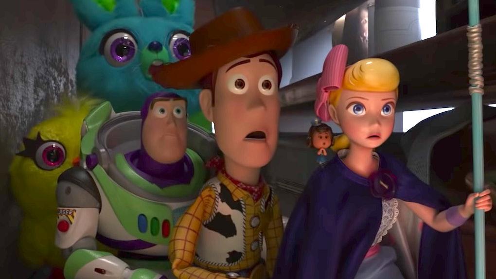 4pcs/set Anime Toy Story 3 Buzz Lightyear Woody Jessie PVC