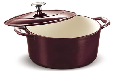 Tramontina Covered Round Dutch Oven (5.5 Quarts)