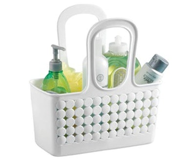InterDesign Orbz Plastic Bathroom Shower Tote