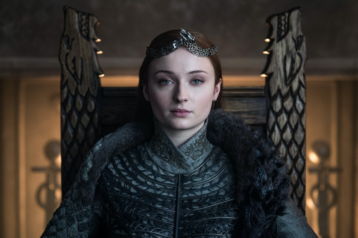 Sophie Turner's Epic BTS 'Game Of Thrones' Pic Shows How Utterly Cool The Stark Kids Are — PHOTO