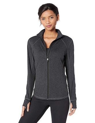 Amazon Essentials Women's Brushed Tech Stretch Full-Zip Jacket