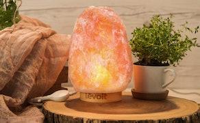 Levoit Kana Himalayan Sea, Pink Crystal Salt Rock Lamp